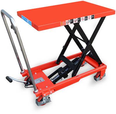 Подъемный гидравлический стол